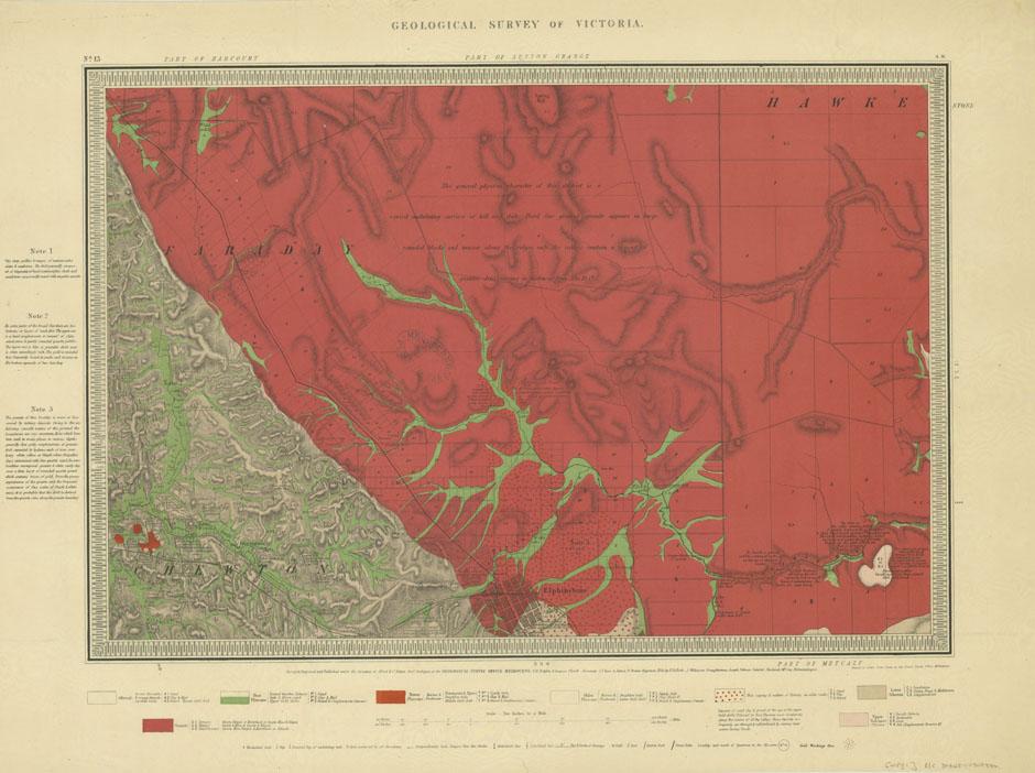 1860s Selwyn Map