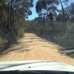 Slow down on our dirt roads meeting